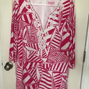 Lilly Pulitzer Capri Pink Julianna Dress Medium